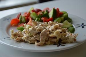 kyllingesalat LCHF